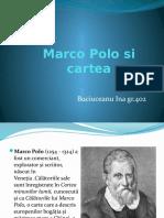 Marco Polo Si Cartea Sa