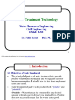 Water Treatment plant by lectures