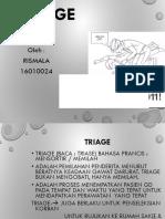 Triage Kgd ( Rismala)