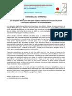 Joaquin Elo - Petición de Libertad Provisional