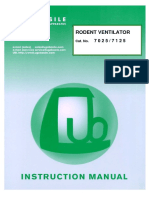 Ugo Basile 7025/7125 Rodent Ventilator
