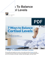 7 Ways To Balance Cortisol Levels.docx
