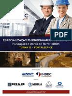 Especialização Em Engenharia Geotécnica - 400h - Turma II - Inbec