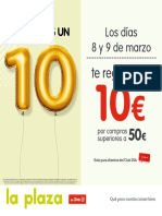 folleto supermercados LA PLAZA DE DIA 07 - 22 Marzo 2019.pdf