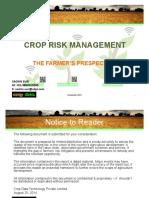 CROP RISK MANAGEMENT-AUG-26-2015-DR. KRISHI & iFARMGATE.pdf