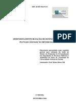Dimensionamento de Bacias de Detenção