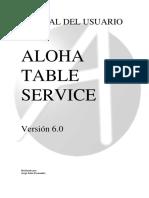 Manual Aloha Manager TS 6.0