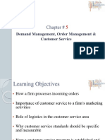05. Demand Management, Order Management, And Customer Service