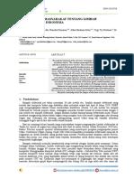 Jurnal Pengetahuan Masyarakat Tentang Sampah Elektronik