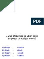 Preguntas HTML