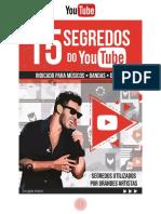 15 Segredos Youtube