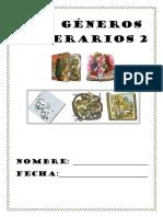 Los Géneros Literarios 2 La Lirica