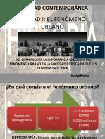 Unidad i El Fenómeno Urbano