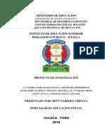 PROYECTO PARA PEDAGOGICO JULIACA MODIFICADO MATRIZ MODICADO.docx