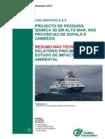 Resumo Nao Tecnico Eia Projecto de Pesquisa Sismica 3d Cgg Sas