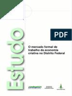 O Mercado Formal de Trabalho Da Economia Criativa No Distrito Federal