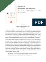 Book Review Dennis, Ed ESVSB