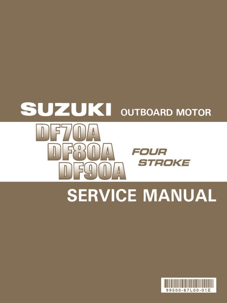 Suzuki DF70A-DF80A-DF90A 2009-2012 Service Manual   Motor