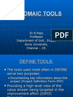 DMAIC Tools