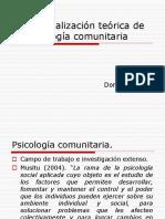 Contextualización Teórica de La Psicología Comunitaria