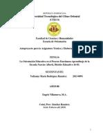 ANTEPROYECTO ORIENTACIÓN EDUCATIVA Y LA FAMILIA YULIANNY.docx