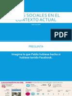 Redes sociales en un contexto actual