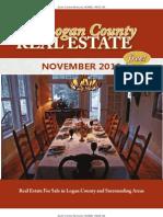 November 2010 Logan County Real Estate