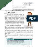 Guía Teórico - La Opinión, Modalizaciones Discursivas 2017.docx