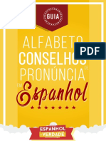 Guia - Alfabeto e Conselhos de Pronúncia em Espanhol - Edição 3 - Atualizada - Espanhol de Verdade.pdf
