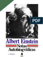 Albert Einstein - Notas Autobiograficas