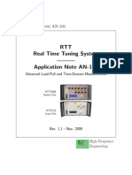 Advanced Load-Pull and Time-Domain Measurements
