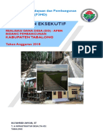 Ringkasan Eksekutif Realisasi Bidang Pembangunan  Dana Desa 2018 Kabupaten Tabalong.pdf