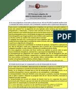 Principais Julgados de Direito Processual Civil 2018