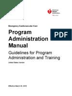 AHA Program Administration Manual PAM 7th Edition
