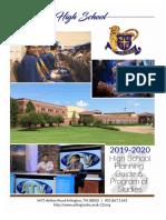2019-20 program of studies final
