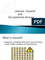 Occupational Hazards and Occupational Disease