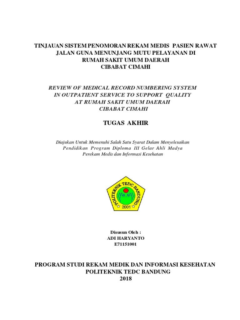 Tugas Akhir Adi Haryanto Pdf