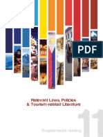 Relevant Laws, Policies and Tourism-related Literature