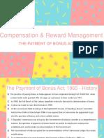 Payment of Bonus Act
