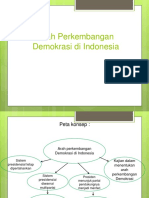 Arah Perkembangan Demokrasi Di Indonesia