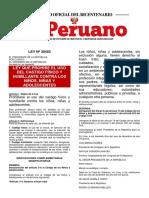 LEY No 30403 Prohibe el castigo fisico.docx
