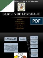 clasesdelenguajepresentacin-120621085209-phpapp01