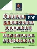 Quem é Quem Governo e Vice-Ministros (2015-2019), 2ª Edição Dez 2017