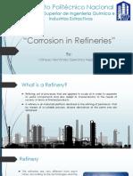 Corrosión en refinerías