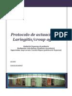 Protocolo de actuación en laringitis