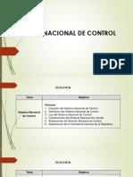2. Sistema Nacional de Control