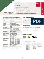 Gsr Data Sheet Solenoid Valve Type 23