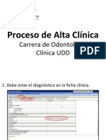 Proceso de Alta Clínica