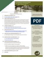 PRAB Agenda March 2019