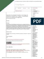 Aquisição Do Português Brasileiro Como Língua de Herança Em Contato Com Italiano
